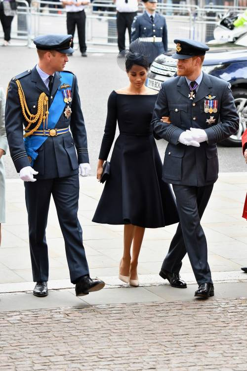 Meghan Markle e Kate Middleton al centenario del Raf 6