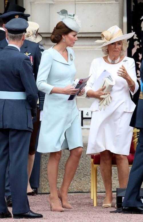 Meghan Markle e Kate Middleton al centenario del Raf 7