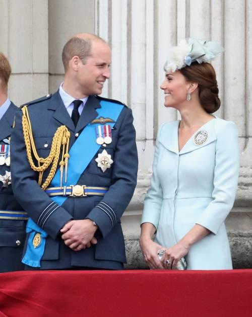 Meghan Markle e Kate Middleton al centenario del Raf 1