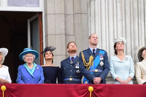Meghan Markle e Kate Middleton al centenario del Raf 10