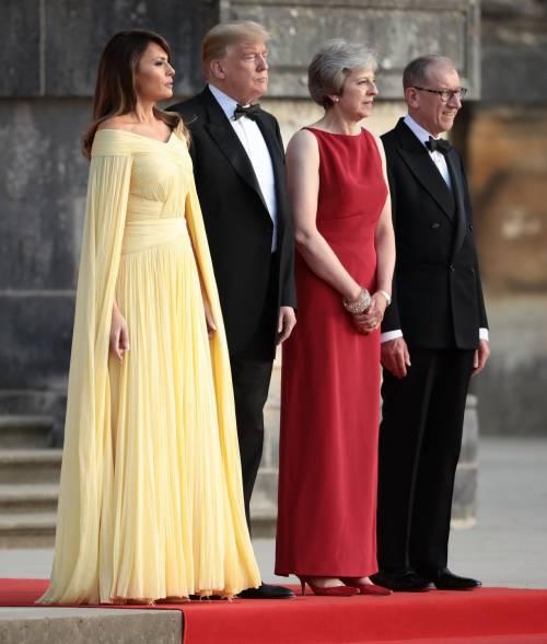 Melania Trump nel Regno Unito 3