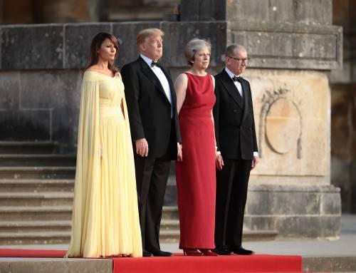 Melania Trump nel Regno Unito 4