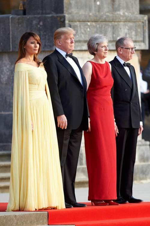 Melania Trump nel Regno Unito 6