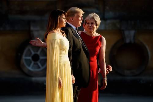 Melania Trump nel Regno Unito 7