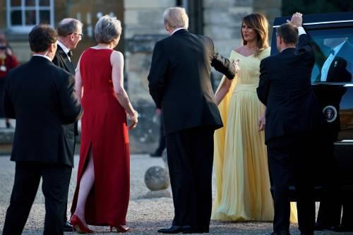 Melania Trump nel Regno Unito 8