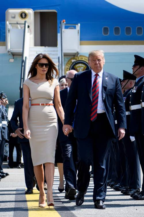 Melania Trump nel Regno Unito 10