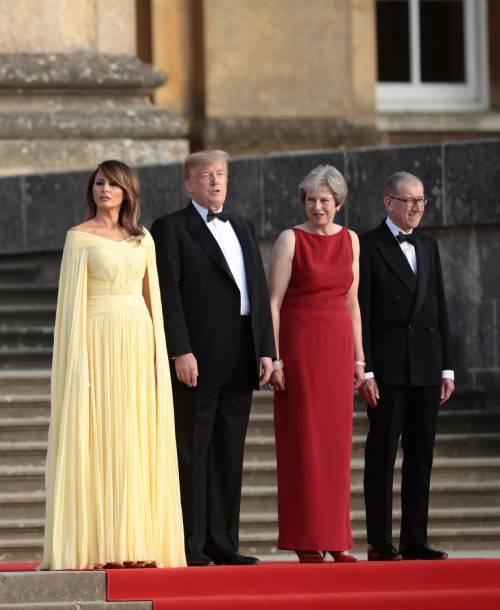 Melania Trump nel Regno Unito 2