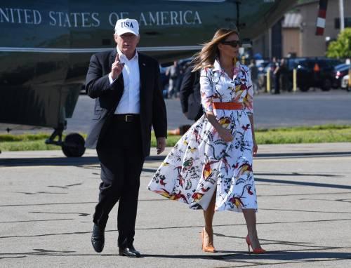 Melania Trump nel Regno Unito 5