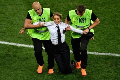Invasione di campo durante la finale dei Mondiali 7