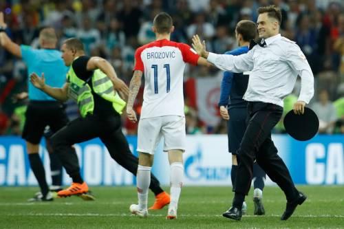 Invasione di campo durante la finale dei Mondiali 15