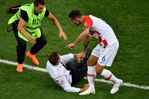 Invasione di campo durante la finale dei Mondiali 4