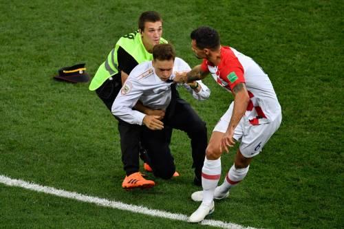 Invasione di campo durante la finale dei Mondiali 5