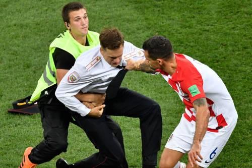 Invasione di campo durante la finale dei Mondiali 6