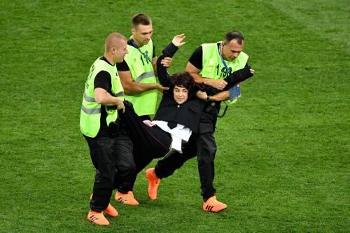 Invasione di campo durante la finale dei Mondiali 2
