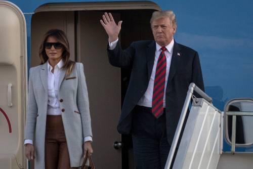 """Melania soffre alla Casa Bianca: """"Contrasti con Trump e spesso a Ny"""""""