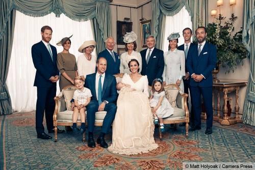 Le foto ufficiali del battesimo del principe Louis 3