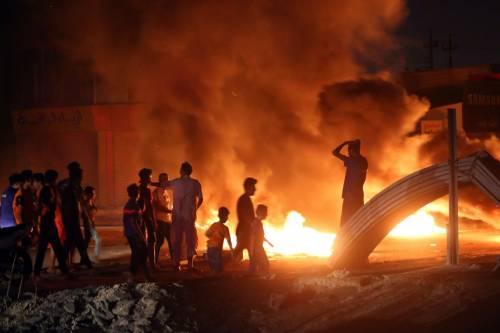L'Iraq rischia di scivolare nel vortice delle proteste