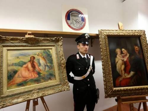 Monza, ritrovati Rubens e Renoir sottratti a proprietari truffati