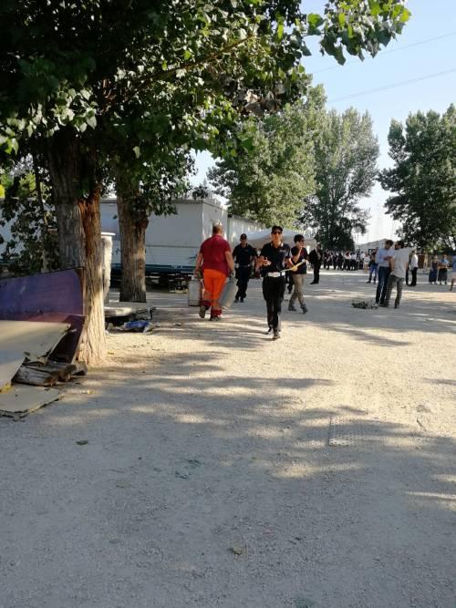 L'intervento della Polizia Locale al Camping River 6