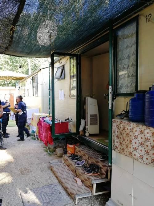 L'intervento della Polizia Locale al Camping River 9