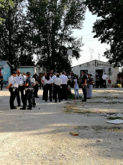 L'intervento della Polizia Locale al Camping River 10