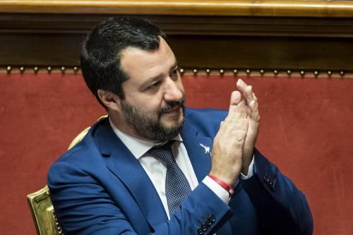 """Salvini: """"Ma quale allarme razzismo, è un'invenzione della sinistra"""""""