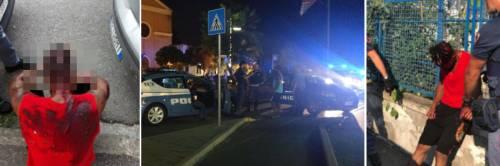 La battaglia a colpi di machete: in strada è guerra tra migranti