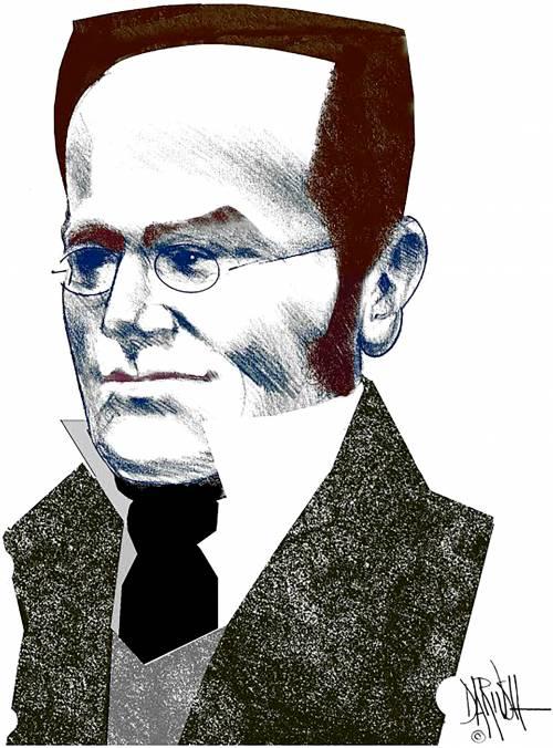 Max Stirner visto da Dariush Radpou