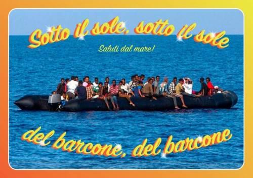 Le cartoline choc contro Salvini 5