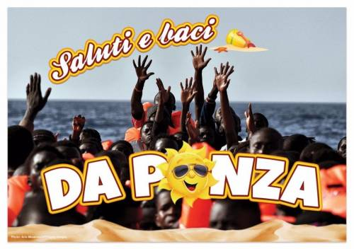 Le cartoline choc contro Salvini 7