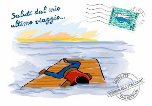 Le cartoline choc contro Salvini 11