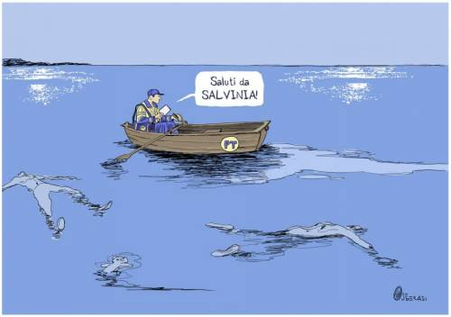 Le cartoline choc contro Salvini 2