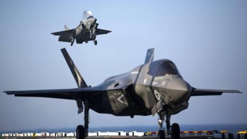 Un nuovo incidente per l'F-35. Ecco cosa non ha funzionato
