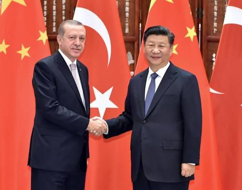 La Turchia più lontana dagli Usa: stringe accordi di sicurezza con la Cina
