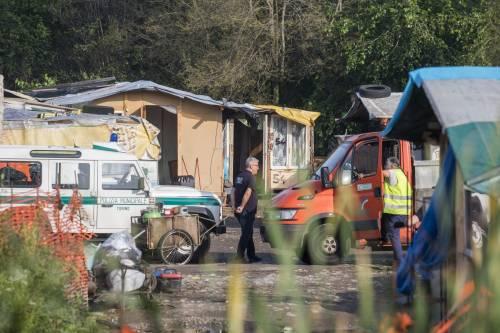 Campo rom di Torino: ancora ruspe in azione