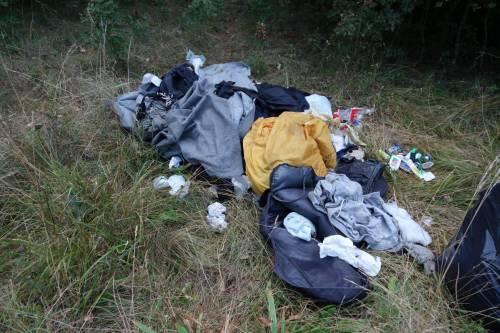 Quei vestiti abbandonati nel corridoio dimenticato dei Balcani 2