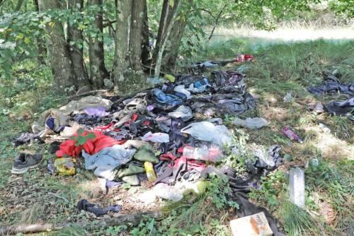 Quei vestiti abbandonati nel corridoio dimenticato dei Balcani 4