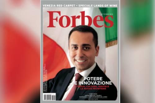 Di Maio fotografato per Forbes: Grillo commenta in napoletano