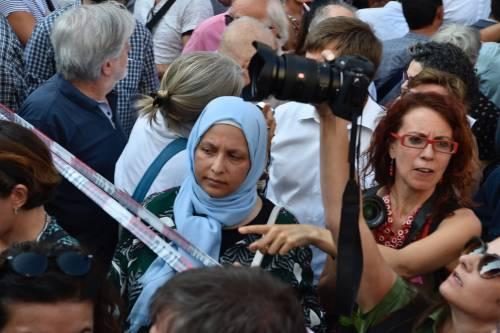 Sinistra in piazza contro Salvini e Orban