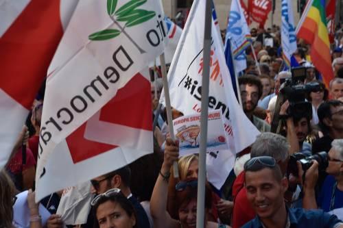 Sinistra in piazza contro Salvini e Orban 3