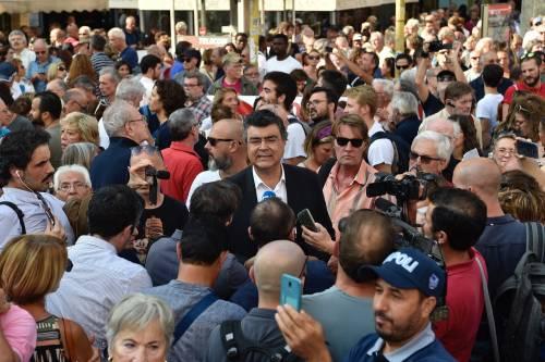 Sinistra in piazza contro Salvini e Orban 5