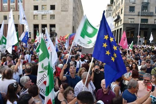 Sinistra in piazza contro Salvini e Orban 9