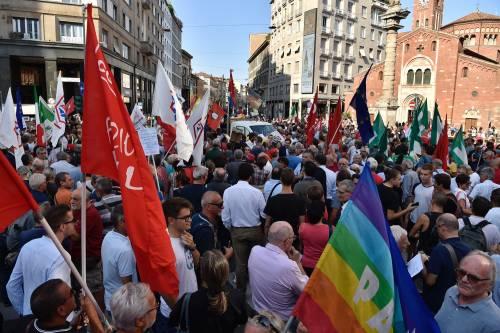 Sinistra in piazza contro Salvini e Orban 11