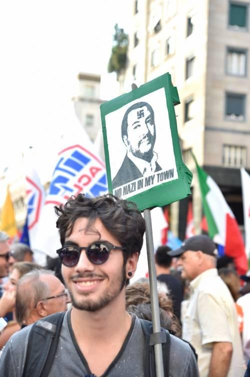 Sinistra in piazza contro Salvini e Orban 13