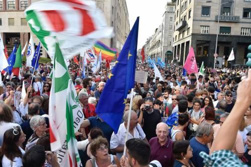 Sinistra in piazza contro Salvini e Orban 14