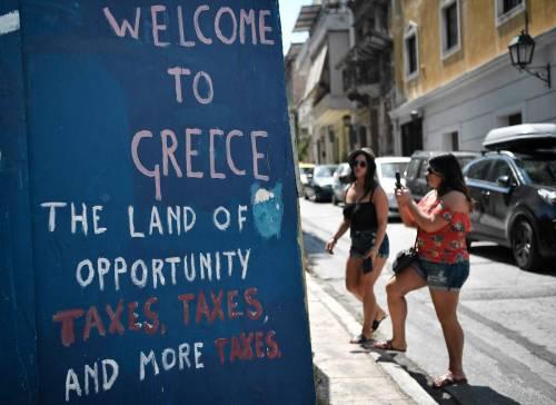 Tracollo demografico in Grecia: addio a un quarto dei cittadini