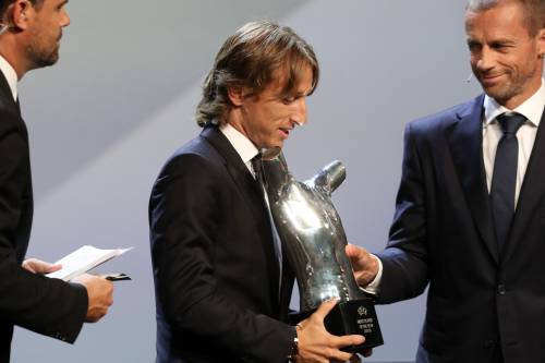 Modric è il calciatore dell'anno e Cristiano Ronaldo non va a Montecarlo