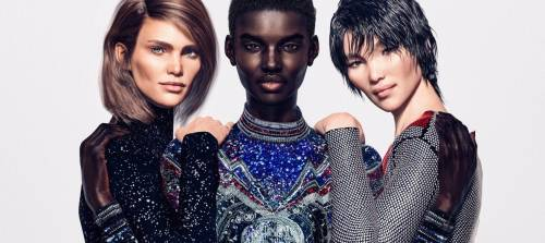 Basta Top Model: Balmain lancia prima campagna con modelle virtuali