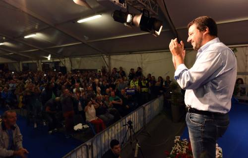 Salvini a valanga su Twitter: il 76% di chi ne parla sta con lui