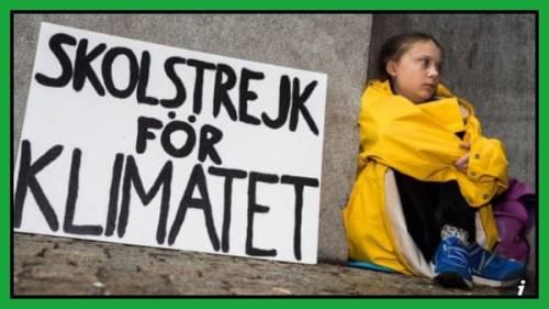 Cambiamenti climatici, la battaglia della piccola Greta
